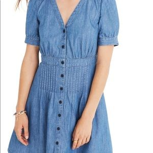 Madewell denim Daylily dress, size 8, NWT